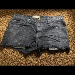 Current/Elliot boyfriend shorts size 25